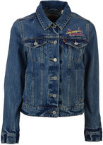 Levi's Women's St. Louis Cardinals Denim Trucker Jacket