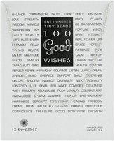 """Dogeared 100 Good Wishes Necklace, 40"""""""