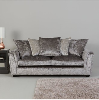 Glitz Fabric Standard Back 3 Seater+ 2 Seater Sofa Set (Buy and SAVE!)