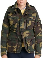 Polo Ralph Lauren Camouflage Hooded Utility Jacket