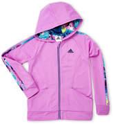 adidas Girls 7-16) Tricot Zip-Up Hoodie