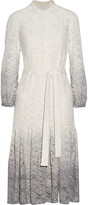 Burberry Degradé Stretch-lace Dress - White
