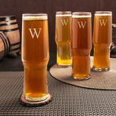 Cathy's Concepts Cathys concepts Monogram 4-pc. Craft Beer Pilsner Glass Set