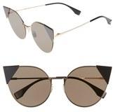 Fendi 57mm Lei Cat Eye Sunglasses