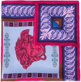 Versace Medusa head scarf