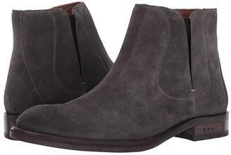 John Varvatos Waverly Chelsea (Coal) Men's Pull-on Boots