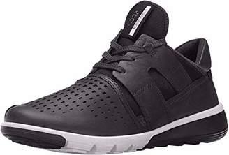 Ecco Women's Intrinsic 2 Fashion Sneaker, Black/Black, 7.