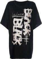 Yohji Yamamoto 'Black and Black' T-shirt