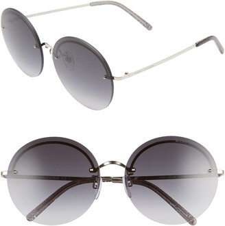 Marc Jacobs 60mm Round Sunglasses