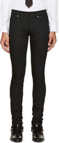 Saint Laurent Black Original Low Waisted Skinny Jeans