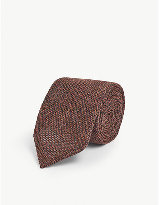 Eton Wool and silk tie