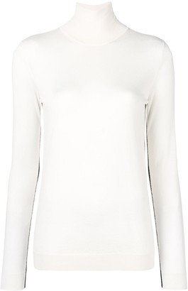 Lanvin Turtle-Neck Fitted Sweater