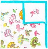 Olympia Le-Tan mushroom print scarf - women - Silk - One Size