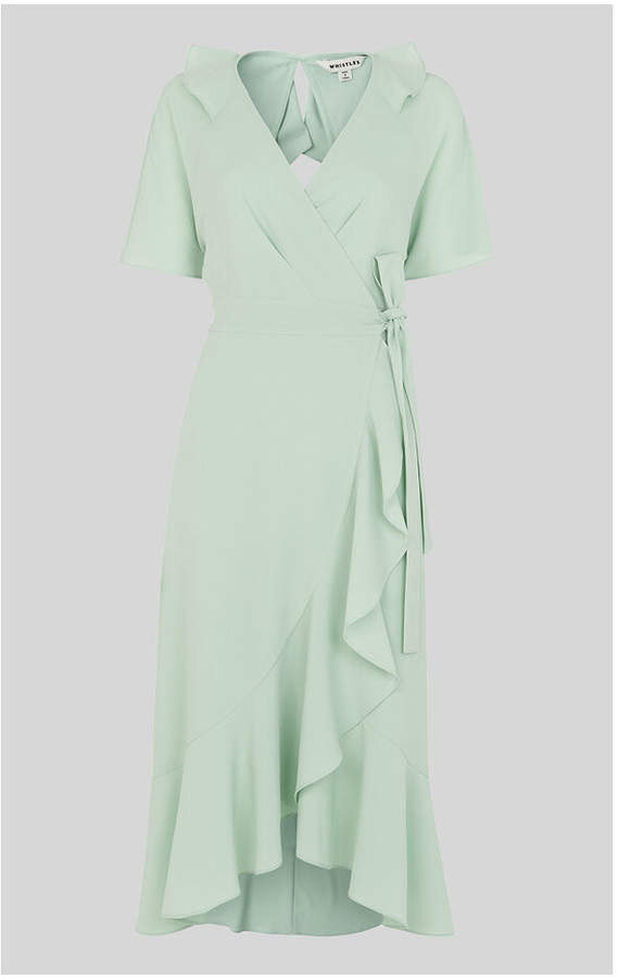 e59d19b117 Frill Wrap Dress - ShopStyle Australia