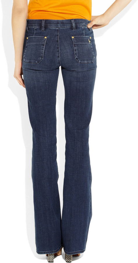 MiH Jeans Marrakesh mid-rise flared jeans