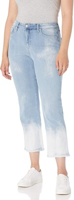Gloria Vanderbilt Women's Mid Rise Straight Leg Crop Length Jean