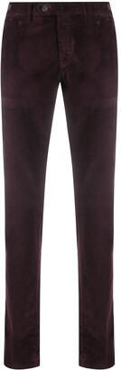 Canali Corduroy Straight-Leg Trousers