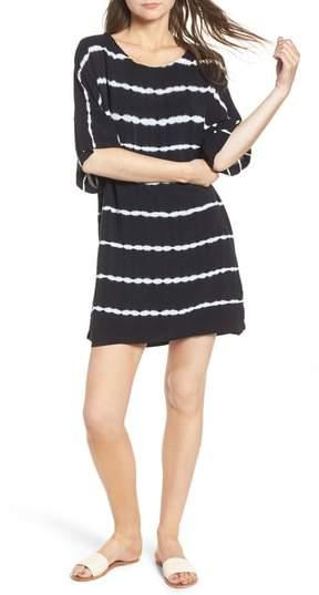 Splendid Tie Dye Stripe T-Shirt Dress