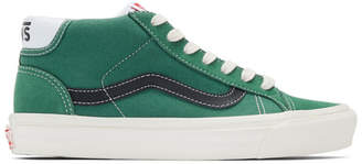 Vans Green OG Mid Skool 37 LX Sneakers