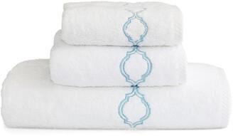 Linum Home Textiles Soft Twist Trellis 3Pc Towel Set