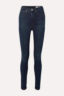 Rag & Bone Jane Super High-rise Skinny Jeans - Dark denim