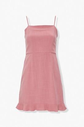 Forever 21 Linen-Blend Mini Dress