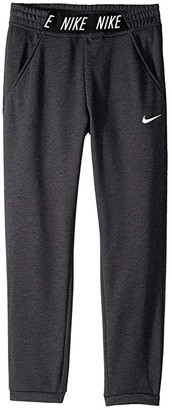 Nike Kids Studio Pants (Little Kids/Big Kids) (Black/Heather/Black/White) Girl's Casual Pants