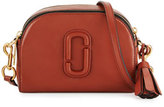 Marc Jacobs Shutter Small Leather Camera Bag, Cognac