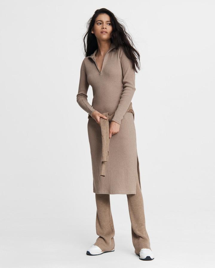 Rag & Bone Laila zip midi dress