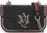 Alexander McQueen Insignia leather satchel