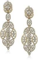 Nina Spring 17 Glamorous Statement Gold Drop Earrings