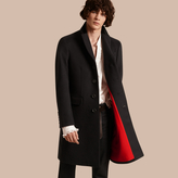 Burberry Rabbit Topcollar Wool Cashmere Coat