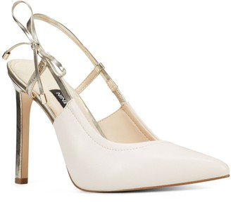 Nine West Tibby Women's Leather Strappy Pumps