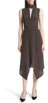 Tracy Reese Women's Kerchief A-Line Silk Dress