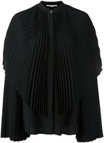 Stella McCartney pleated long sleeve shirt