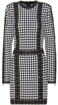Balmain Lace-up Knitted Dress