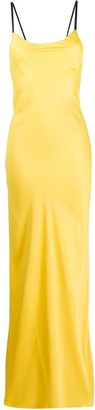 Heron Preston sleeveless open-back maxi dress