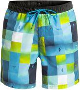 Quiksilver Men's Check Mark 17 Swim Short