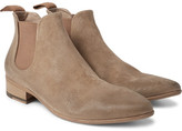 Marsèll Washed-Suede Chelsea Boots