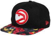 New Era Atlanta Hawks HWC Floral Shadow 9FIFTY Snapback Cap