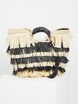 Free People Hula Basket Bag Clutch