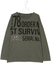 Diesel shirt with lettering print