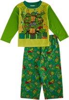 """Teenage Mutant Ninja Turtles TMNT Little Boys' Toddler """"Ninja Dudes"""" 2-Piece Pajamas"""