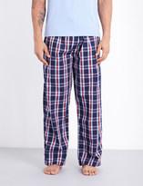 Derek Rose Barker cotton pyjama bottoms