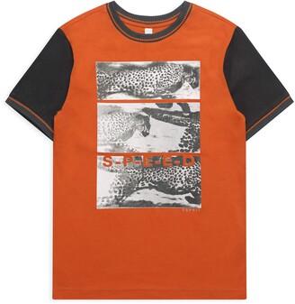 Esprit Boy's Rq1038603 T-Shirt Ss