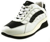 Hogan Elective Sneaker Con Ala Round Toe Leather Tennis Shoe.
