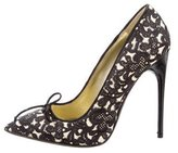 Tom Ford Suede Embroidered Pumps