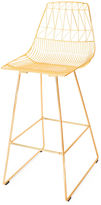 Bend Goods Lucy Barstool, Gold