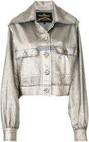 Vivienne Westwood metallic fitted jacket