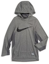 Nike Dry Elite Shooter Hoodie (Little Boys & Big Boys)